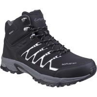 Shoes Men Walking shoes Cotswold Abbeydale Mid Black and Grey