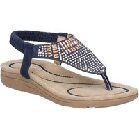 Shoes Women Sandals Fleet & Foster 6K5536-815-NVY-36 Mulberry Navy