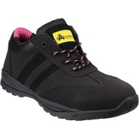 Shoes Women Low top trainers Amblers Safety FS706 Sophie Black