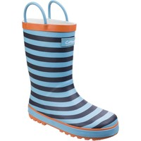 Shoes Girl Wellington boots Cotswold Captain Blue