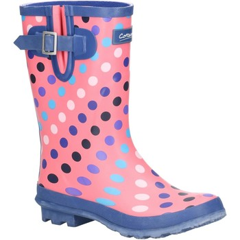 Shoes Women Wellington boots Cotswold Paxford Pink and Multi Spot