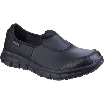 Shoes Women Loafers Skechers Sure Track Black