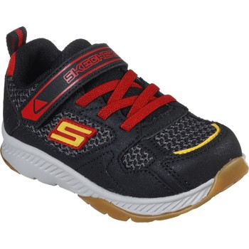 Shoes Boy Fitness / Training Skechers 400047NBKRD21 Comfy Grip Black and Red
