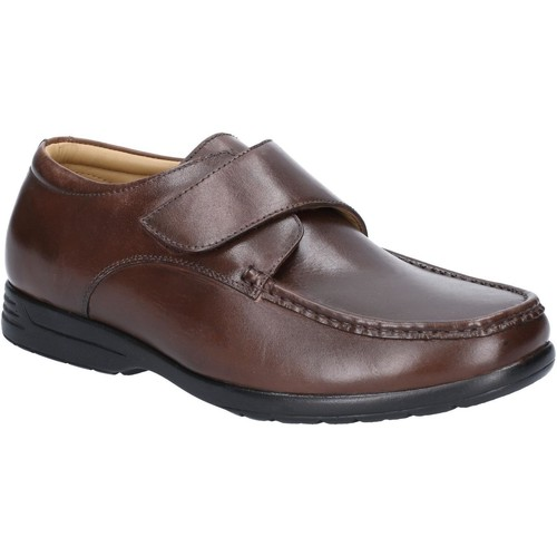 Shoes Men Loafers Fleet & Foster 3672-BRN-13 Fred Brown