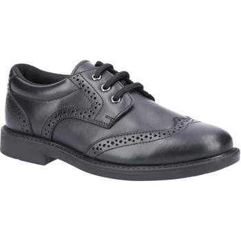 Shoes Boy Derby Shoes Hush puppies HPK1000-301-3 Harry Black
