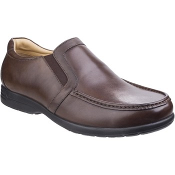 Shoes Men Loafers Fleet & Foster 3671-BRN-6 Gordon Brown