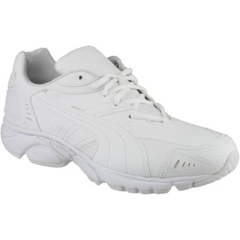 Shoes Low top trainers Puma Axis/Hahmer Mens Lace-Up Trainer White