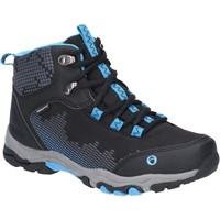 Shoes Boy Walking shoes Cotswold JH-CH77148A-BKBL-28 Ducklington Lace Black and Blue