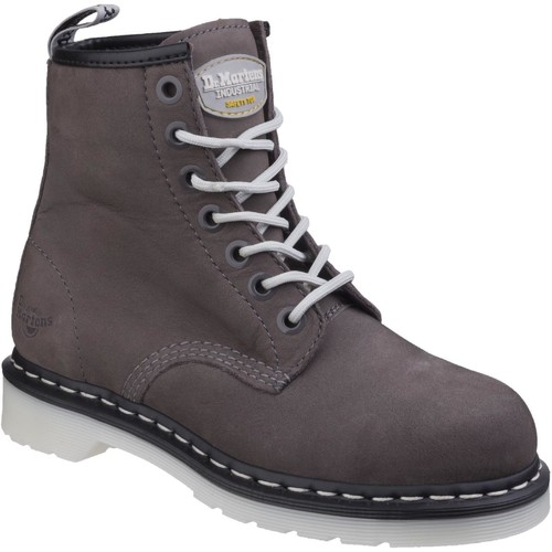 Shoes Women Mid boots Dr Martens 23114020-3 Maple ST Grey Wind River