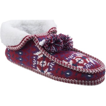 Shoes Women Slippers Divaz FJA16-3815 Lapland Red