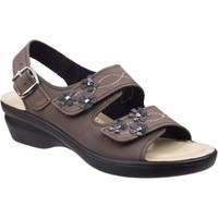 Shoes Women Sandals Fleet & Foster Amaretto Brown