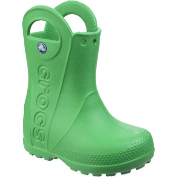 Shoes Children Wellington boots Crocs Handle It Rain Grass Green