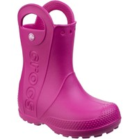 Shoes Children Wellington boots Crocs Handle It Rain Candy Pink
