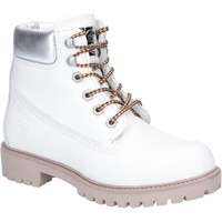 Shoes Women Ankle boots Darkwood DW7091W3570FNA Birch White and Silver