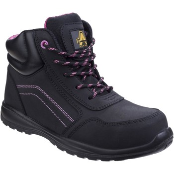Shoes Women Mid boots Amblers Safety AS601 Lydia Black