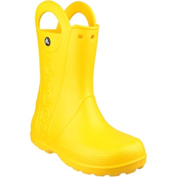 Shoes Children Wellington boots Crocs 12803-730 Handle It Rain Yellow