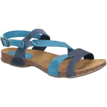 Shoes Women Sandals Riva Di Mare 821-NVY/TEA-35 Debs Navy and Teal