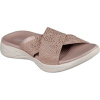 Shoes Women Mules Skechers 16259RSGD4 On the GO 600 Glistening Rose Gold