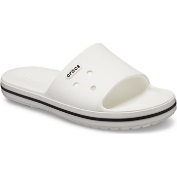 Shoes Sliders Crocs 205733-103-M4/W6 Crocband lll Slide White and Black
