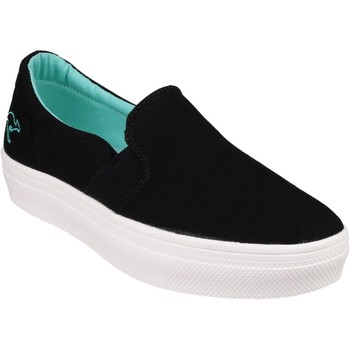 Shoes Women Slip-ons Kangaroos 22170 K Mid Plateau Black