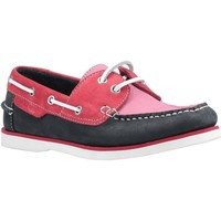 Shoes Women Boat shoes Hush puppies HATTIE Hattie Pink and Navy