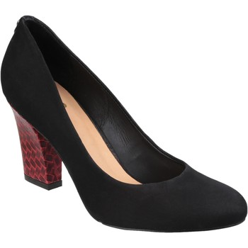 Shoes Women Heels Riva Di Mare Positano Suede Black
