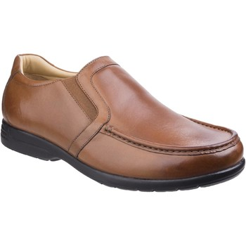 Shoes Men Loafers Fleet & Foster 3671-TAN-6 Gordon Tan