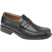 Shoes Men Loafers Amblers Manchester Black