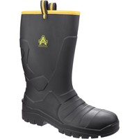 Shoes Men Mid boots Amblers Safety AS1008 Black