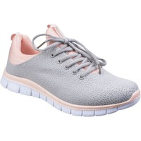 Shoes Women Low top trainers Fleet & Foster Pompei Grey