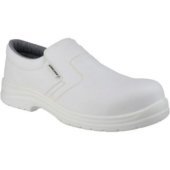 Shoes Men Loafers Amblers Safety FS510 White