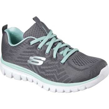 Shoes Women Fitness / Training Skechers 12615CCGR3 Graceful Get Connected Charcoal