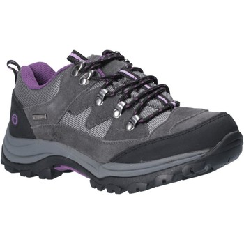 Shoes Women Walking shoes Cotswold WLL0028 Oxerton Low Grey and Purple