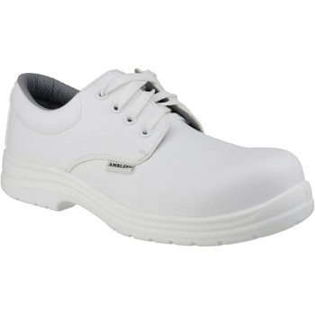 Shoes Men Derby Shoes & Brogues Amblers Safety FS511 White
