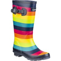 Shoes Girl Wellington boots Cotswold Rainbow Multicoloured