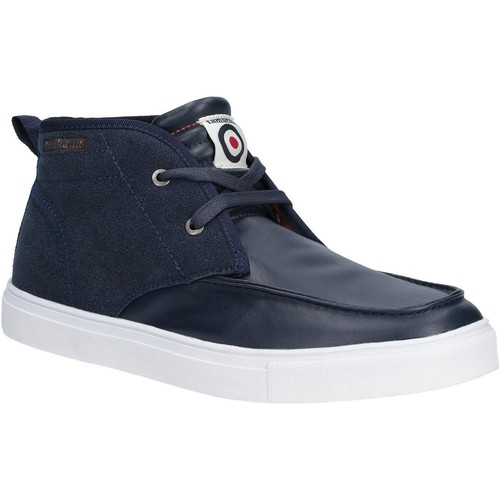 Shoes Men Mid boots Lambretta Chukka Navy