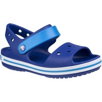 Shoes Children Outdoor sandals Crocs Crocband Blue Cerulean Blue Ocean
