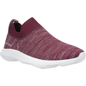 Shoes Women Slip-ons Hush puppies HW06597-609-3 Free Dark Wine Knit