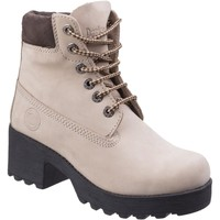 Shoes Women Hi top trainers Darkwood 7040-30NU Pine Beige