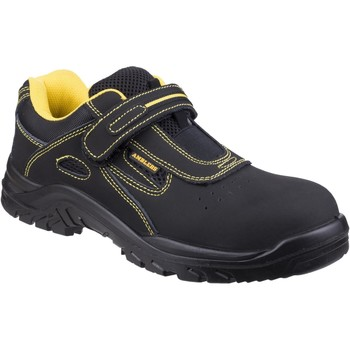 Shoes Low top trainers Amblers Safety FS77 Black