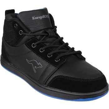 Shoes Hi top trainers Kangaroos Skye Black and Black and Royal