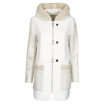 Clothing Women Coats Desigual BJORN White