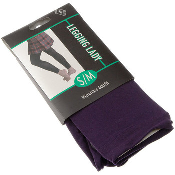 Clothing Women Leggings Intersocks Long warm leggings - Opaque Violet
