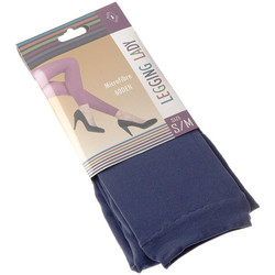 Clothing Women Leggings Intersocks Long warm leggings - Opaque Bleu