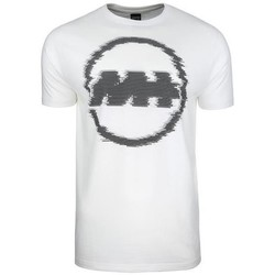 Clothing Men Short-sleeved t-shirts Monotox Mglitch White,Graphite
