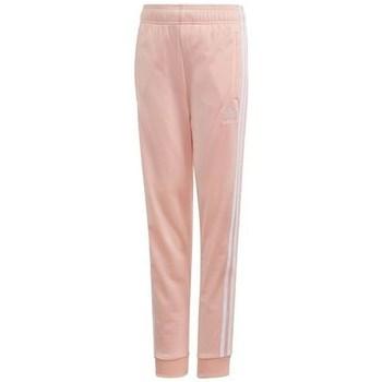 Clothing Children Tracksuit bottoms adidas Originals Sst Trackpant Pink