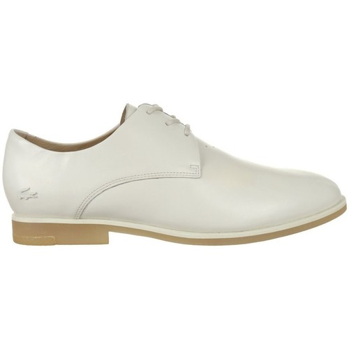 Shoes Women Derby Shoes Lacoste Cambrai Cream