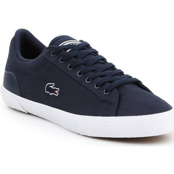 Shoes Men Low top trainers Lacoste Lerond Navy blue