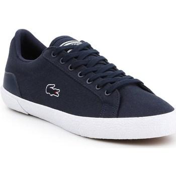 Shoes Men Low top trainers Lacoste Lerond Navy blue