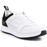 Shoes Men Low top trainers Lacoste Joggeur White, Black
